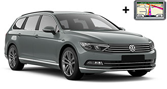 VW Passat estate + NAVI