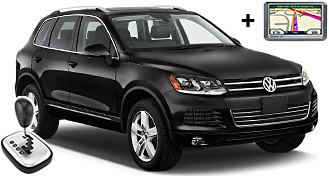 VW Touareg + NAVI FFAR