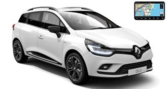 Renault Clio IV GrandTour + GPS EWMR