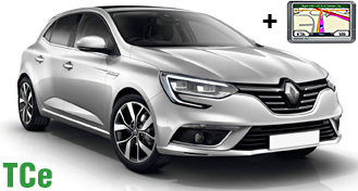 Renault Megane TCe + GPS
