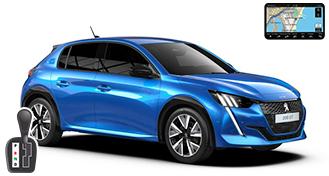 Peugeot 208 + NAVI HDAV