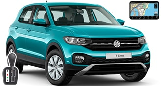 VW T-Cross + NAVI CFAV