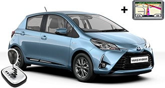 Toyota Yaris Hybrid + NAVI