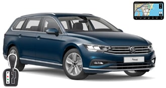 VW Passat estate + GPS