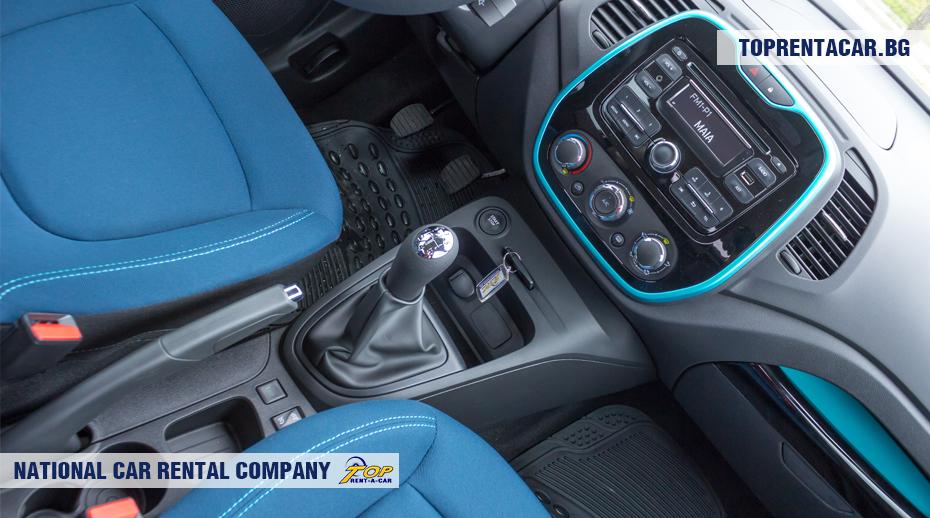 Renault Captur - boîte de vitesses manuelle