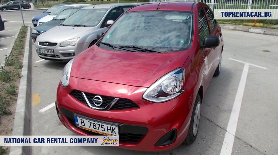 Nissan Micra - vue frontale