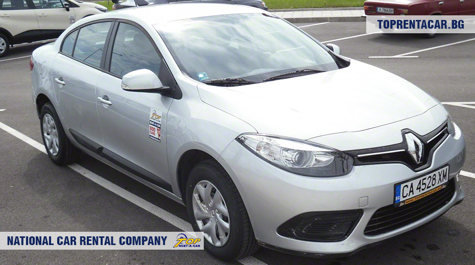 Renault Fluence - vue frontale