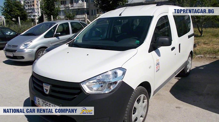 Dacia Dokker - vue frontale