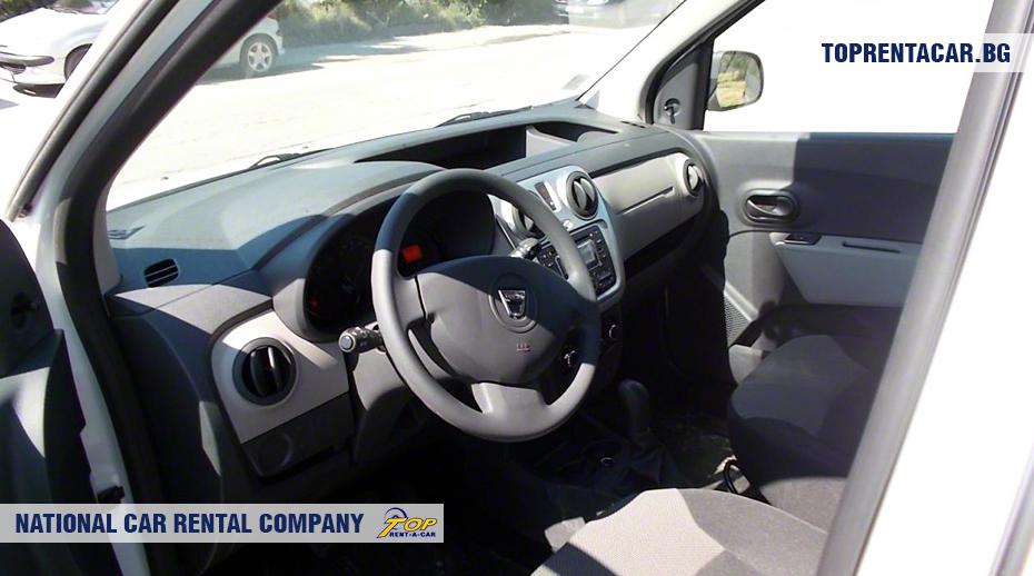 Dacia Dokker - vue de l'intérieur