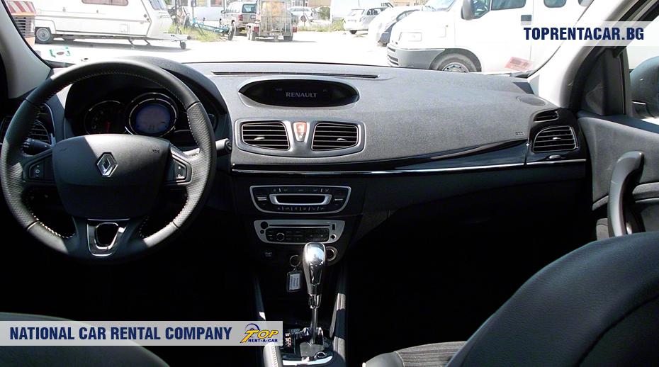 Renault Fluence - vue de l'intérieur