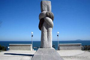 Monument près du Jardin de la Mer