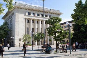 Le centre de Burgas