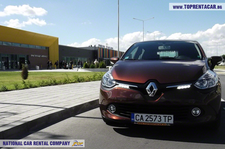 Renault Clio IV aéroport de Varna