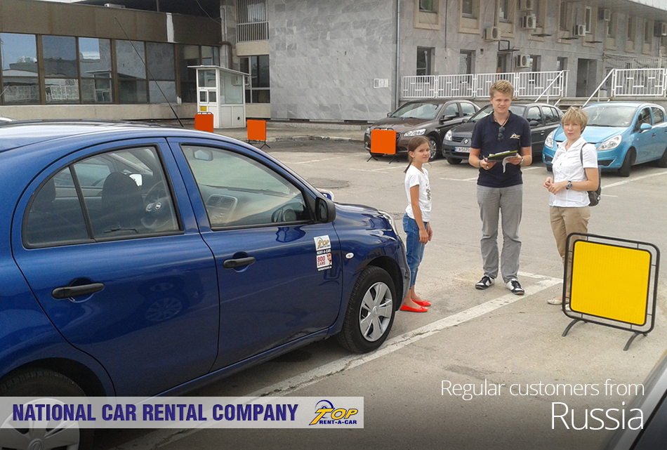 Russian customers of Top Rent A Car