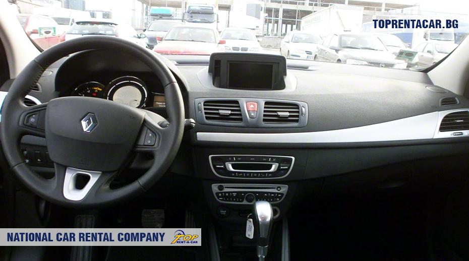 Renault Megane - vue de l'intérieur