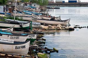 Bateaux près de Balchik