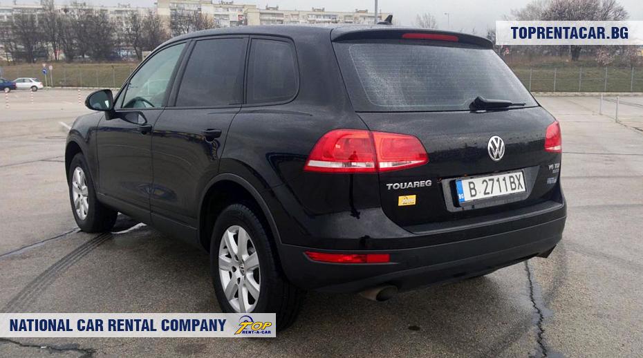 VW Touareg - vue arrière
