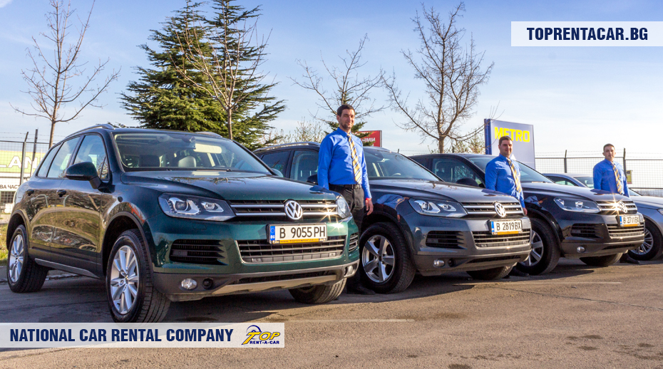 VW Touareg par Top Rent A Car