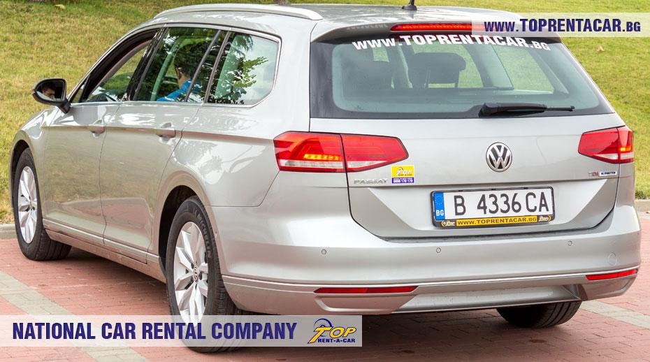 VW Passat estate - inside view