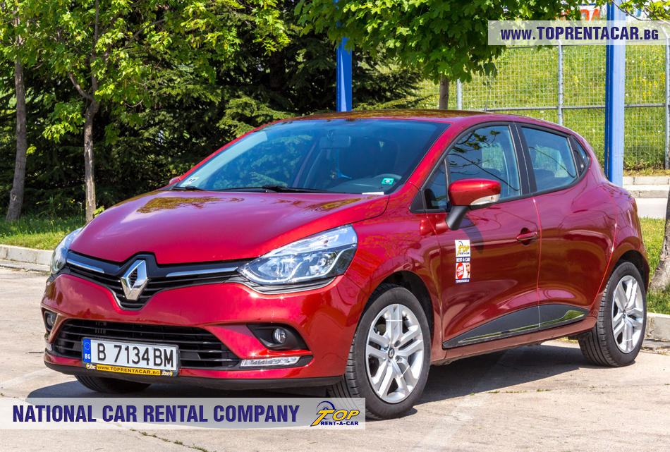Renault Clio IV TCe - vue frontale