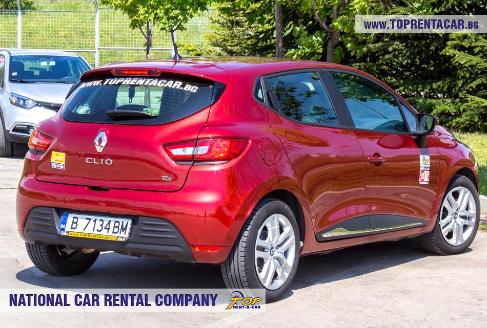 Renault Clio IV TCe - vue arrière