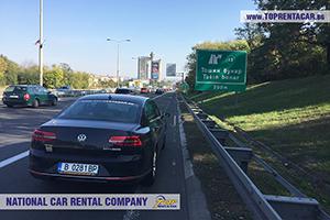 Location de voitures en Serbie
