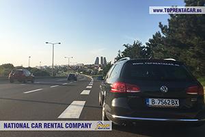 Location de voitures Belgrad aéroport en Serbie