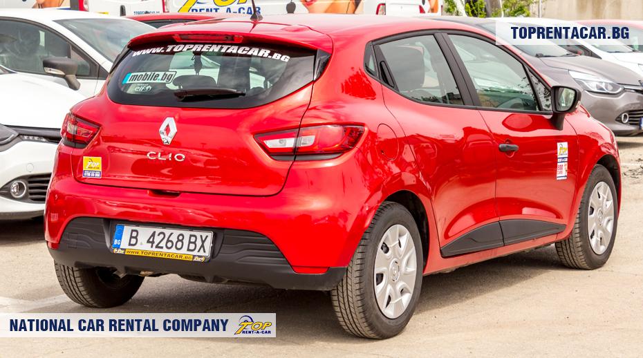 Renault Clio IV - vue arrière