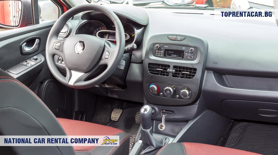 Renault Clio IV - vue de l'intérieur