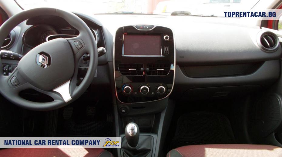 Renault Clio IV TCe - vue de l'intérieur