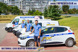 Alquiler de furgonetas en Plovdiv de Top Rent A Car