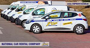 Louer des fourgonnettes cargo a Sofia avec Top Rent A Car