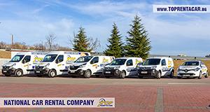 Louer des fourgonnettes cargo a Burgas avec Top Rent A Car