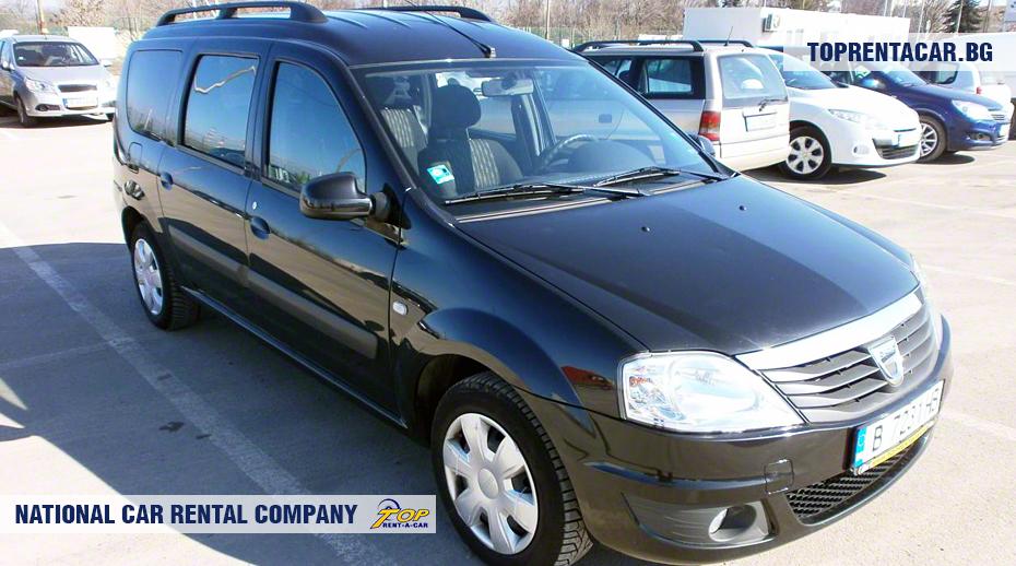 Dacia MCV- vue frontale