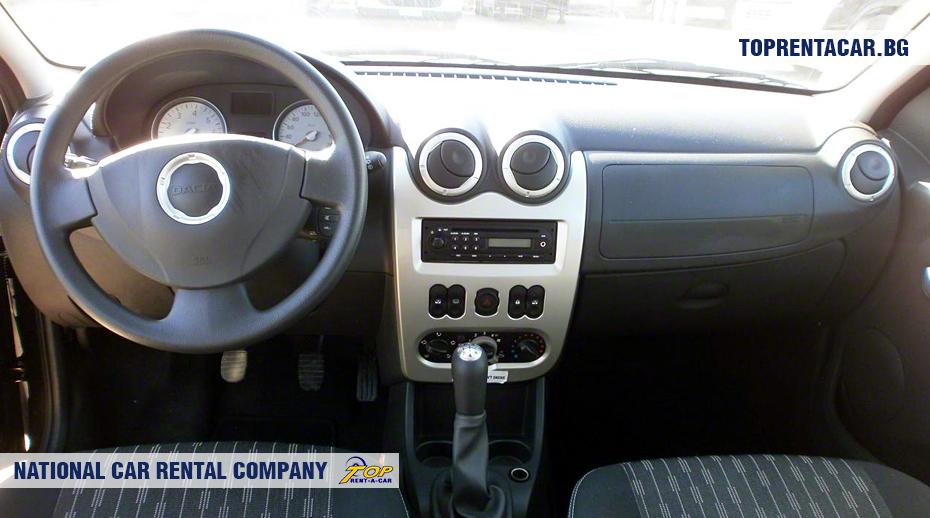 Dacia MCV- vue de l'intérieur