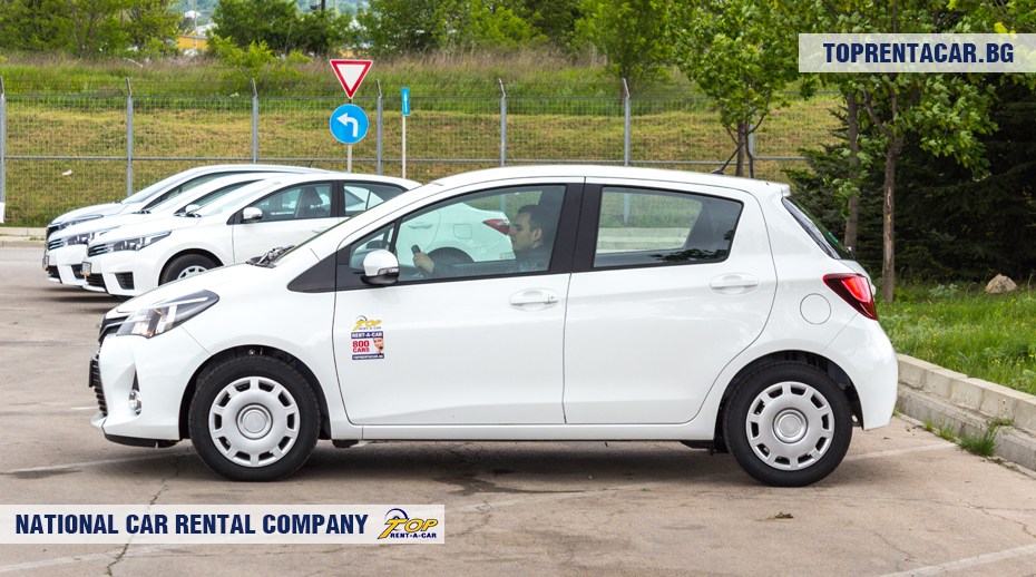 Toyota Yaris de Top Rent A Car