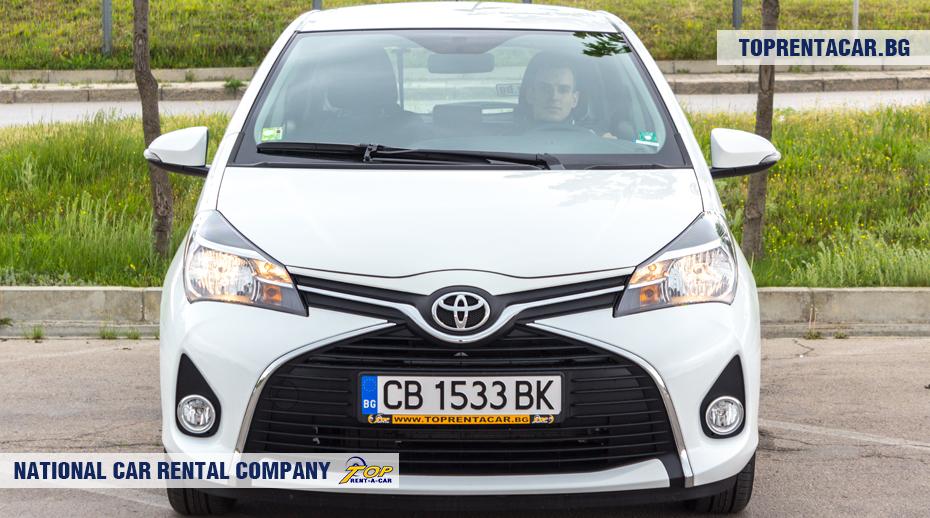 Toyota Yaris - vue frontale