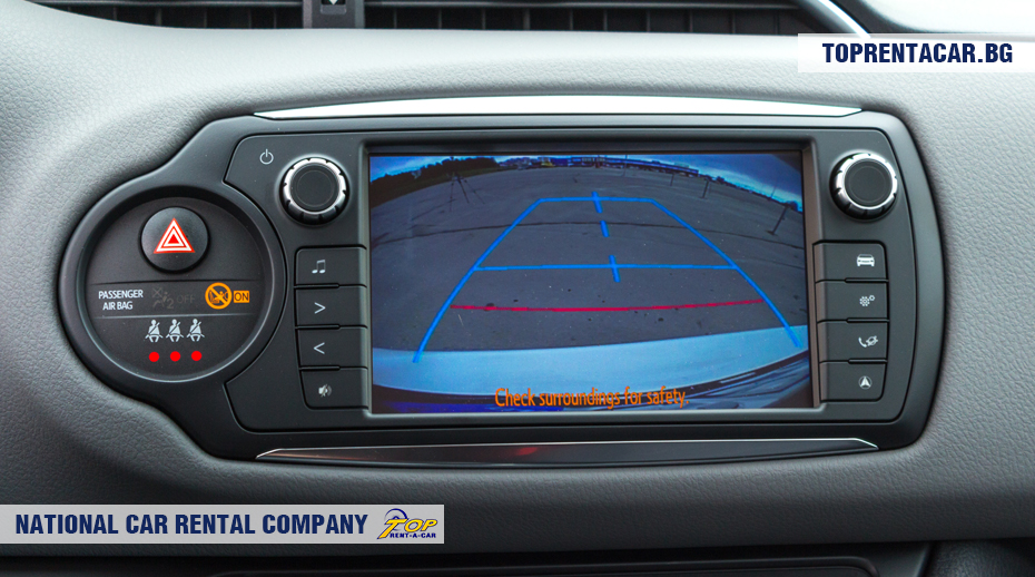 Toyota Yaris - Caméra arrière