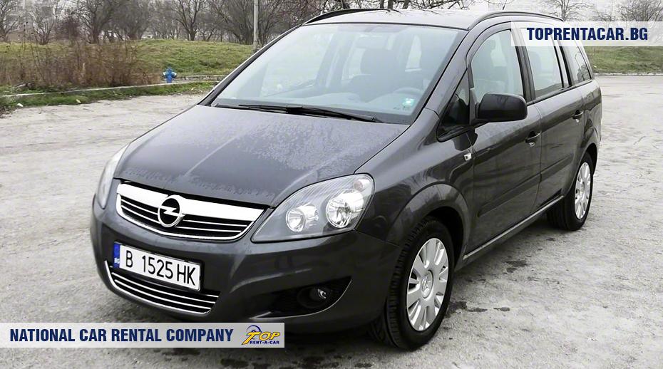 Opel Zafira - vorderansicht