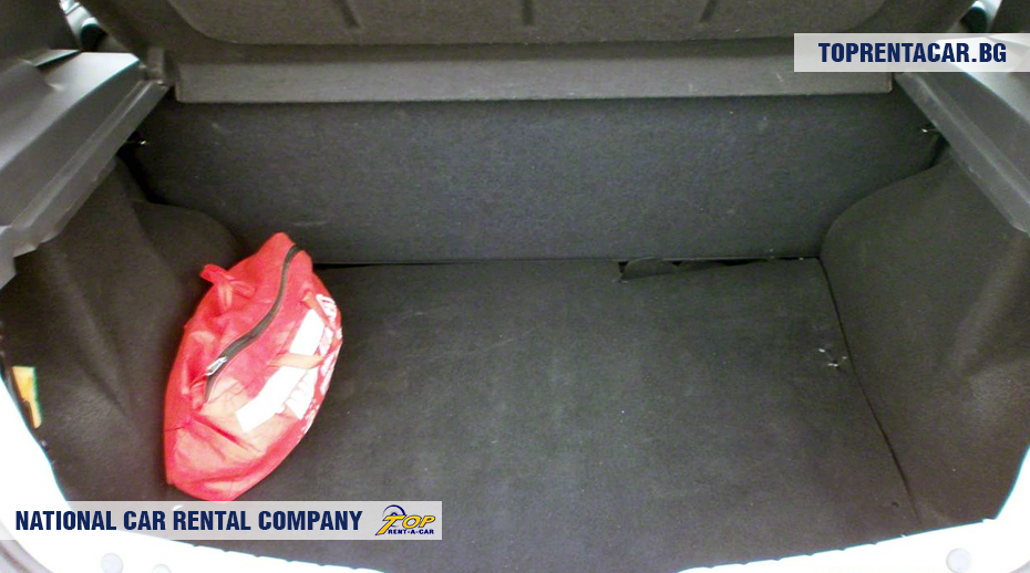 Dacia Sandero - vue du coffre