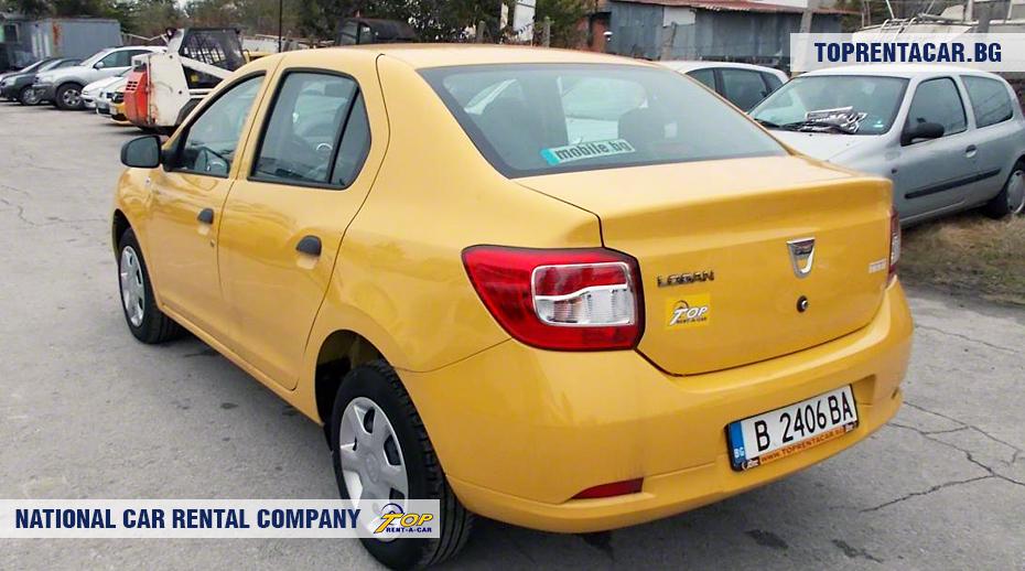 Dacia Logan - vue arrière