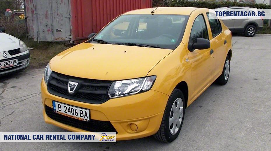 Dacia Logan - vue frontale