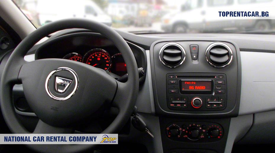 Dacia Logan - vue de l'intérieur