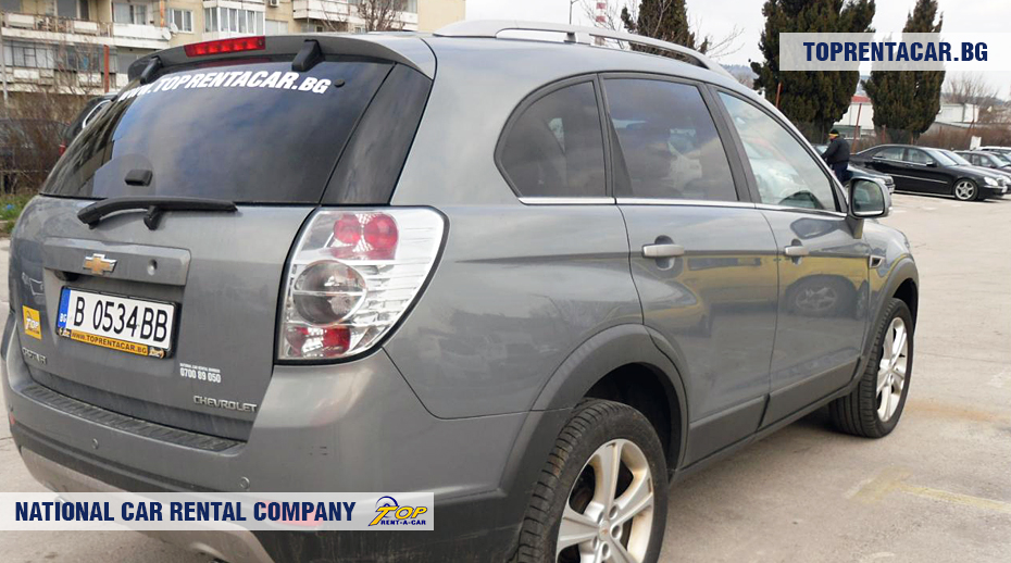 Chevrolet Captiva - vue arrière