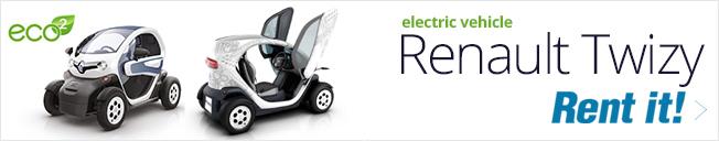 Twizy e-car rental