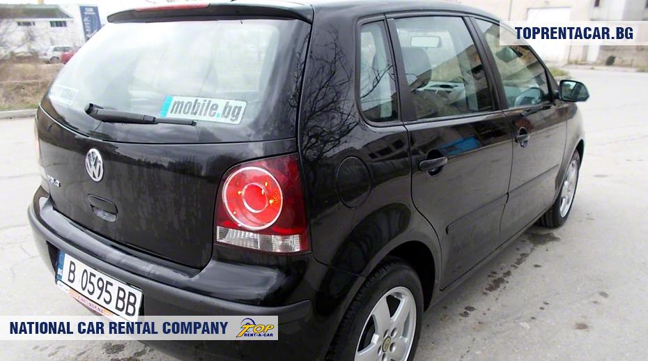 VW Polo - vue arrière