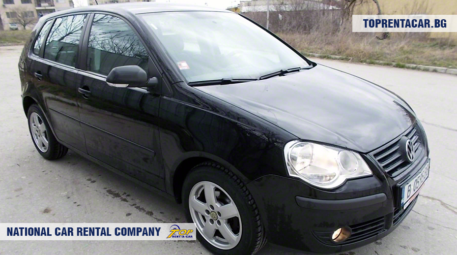 VW Polo - vue frontale