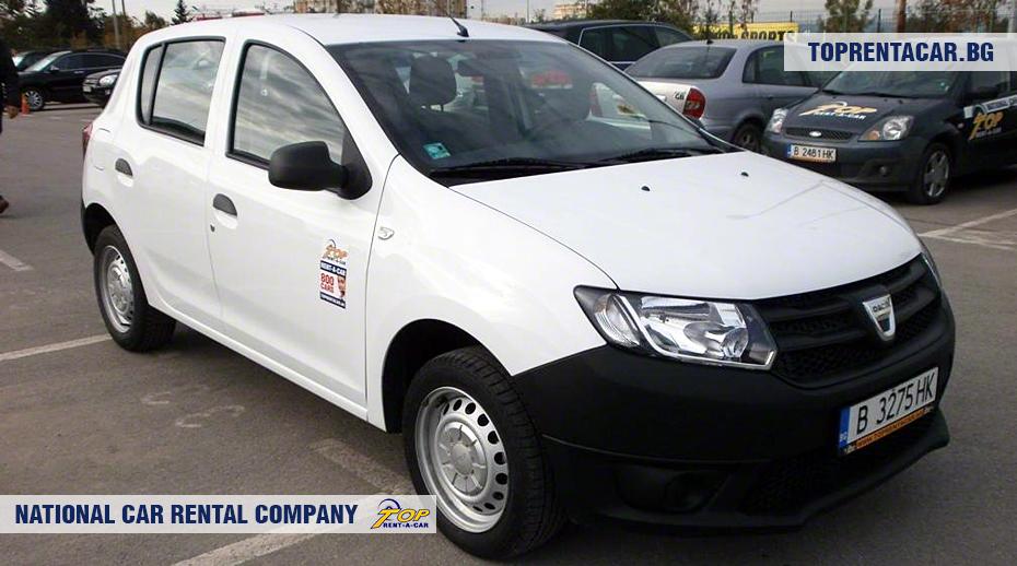 Dacia Sandero - vue frontale