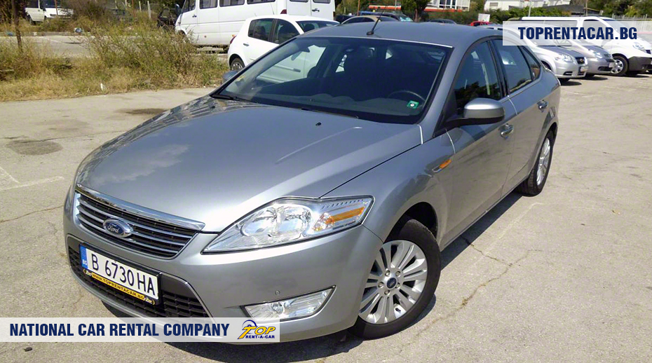 Ford Mondeo - vue frontale