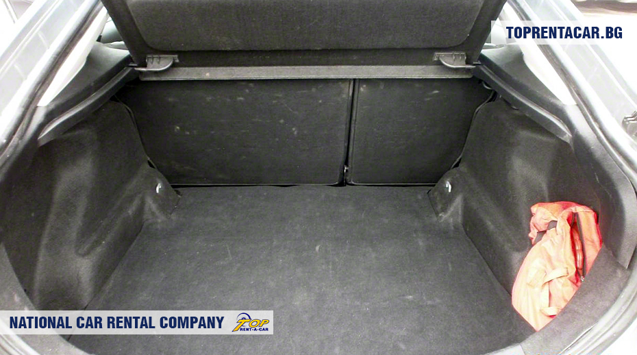 Ford Mondeo - vue du coffre